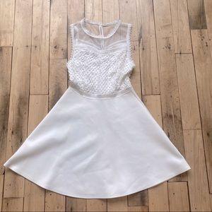 Francescas White Lace Dress Bride Bridal